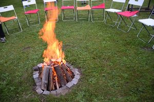 Lagerfeuer in Zenting